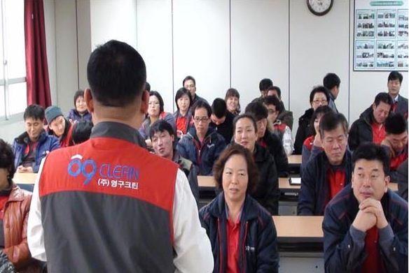 2011년 6,8권역 현장 패커 교육